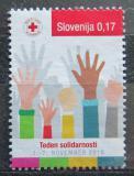 Poštovní známka Slovinsko 2016 Červený kříž, daňová Mi# 80