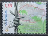 Poštovní známka Slovinsko 2012 Mapa Lublaně Mi# 948