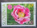 Poštovní známka Slovinsko 2010 Růže Mi# 847