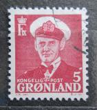Poštovní známka Grónsko 1950 Král Frederik IX. Mi# 29