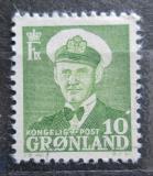 Poštovní známka Grónsko 1950 Král Frederik IX. Mi# 30