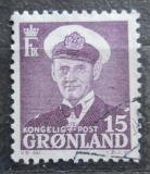 Poštovní známka Grónsko 1950 Král Frederik IX. Mi# 31 a