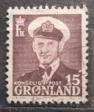 Poštovní známka Grónsko 1960 Král Frederik IX. Mi# 31 b