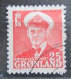 Poštovní známka Grónsko 1950 Král Frederik IX. Mi# 32