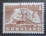 Poštovní známka Grónsko 1950 Plachetnice Mi# 35