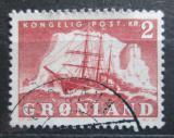 Poštovní známka Grónsko 1950 Plachetnice Mi# 36