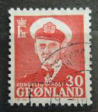 Poštovní známka Grónsko 1959 Král Frederick IX. Mi# 44
