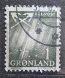 Poštovní známka Grónsko 1963 Polární záře Mi# 47