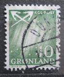 Poštovní známka Grónsko 1963 Polární záře Mi# 49