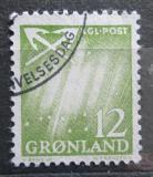 Poštovní známka Grónsko 1963 Polární záře Mi# 50