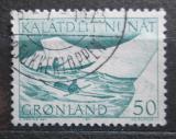 Poštovní známka Grónsko 1971 Přeprava pošty Mi# 79