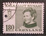 Poštovní známka Grónsko 1978 Královna Margrethe II. Mi# 108