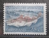 Poštovní známka Grónsko 1981 Treska obecná Mi# 129