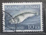 Poštovní známka Grónsko 1984 Anarhichas minor Mi# 154