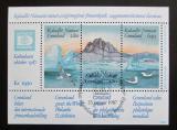 Poštovní známky Grónsko 1987 Výstava HAFNIA Mi# Block 1