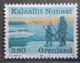 Poštovní známka Grónsko 1987 Lovci Mi# 173