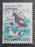 Poštovní známka Grónsko 1989 Alkoun obecný Mi# 193