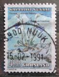 Poštovní známka Grónsko 1990 Zvonek okrouhlolistý Mi# 205
