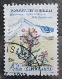 Poštovní známka Grónsko 1992 Pedicularis hirsuta Mi# 223