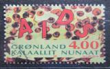 Poštovní známka Grónsko 1993 Boj proti AIDS Mi# 238