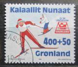 Poštovní známka Grónsko 1994 ZOH Lillehammer Mi# 243
