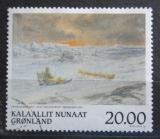 Poštovní známka Grónsko 1999 Umění, Peter Rosing Mi# 337 Kat 6.50€