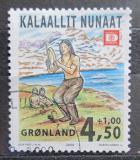 Poštovní známka Grónsko 2000 Tradiční tanec Mi# 358
