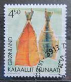 Poštovní známka Grónsko 2001 Kulturní dědictví Mi# 366