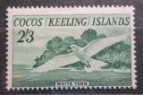 Poštovní známka Kokosové ostrovy 1963 Nody bělostný Mi# 6 Kat 25€