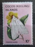 Poštovní známka Kokosové ostrovy 1983 Chasmina candida Mi# 91