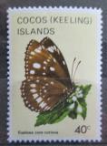 Poštovní známka Kokosové ostrovy 1983 Euploea core corinna Mi# 96