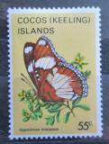 Poštovní známka Kokosové ostrovy 1983 Hypolimnas misippus Mi# 99