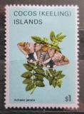 Poštovní známka Kokosové ostrovy 1982 Achae janata Mi# 101