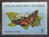 Poštovní známka Kokosové ostrovy 1983 Utetheisa pulchelloides Mi# 103
