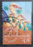 Poštovní známka Kokosové ostrovy 1996 Pštros dvouprstý Mi# 349