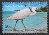 Poštovní známka Kokosové ostrovy 2003 Volavka pobřežní Mi# 412