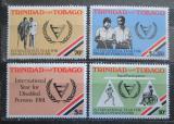 Poštovní známky Trinidad a Tobago 1981 Mezinárodní rok postižených Mi# 428-31