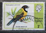 Poštovní známka Šalamounovy ostrovy 1975 Pištec zlatý Mi# 267