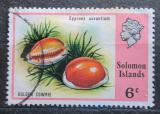 Poštovní známka Šalamounovy ostrovy 1976 Cypraea aurantium Mi# 308