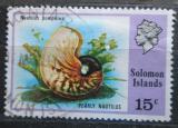 Poštovní známka Šalamounovy ostrovy 1976 Nautilus pompilius Mi# 311