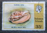 Poštovní známka Šalamounovy ostrovy 1976 Cymbiola rutila Mi# 314