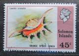 Poštovní známka Šalamounovy ostrovy 1976 Lambis crocata Mi# 315
