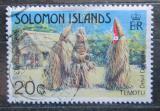 Poštovní známka Šalamounovy ostrovy 1983 Vánoce, lidové oslavy Mi# 503