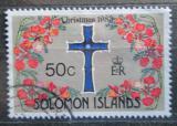 Poštovní známka Šalamounovy ostrovy 1983 Vánoce Mi# 508