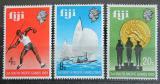 Poštovní známky Fidži 1969 Jihopacifické hry Mi# 252-54