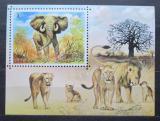 Poštovní známka Umm al-Kuvajn 1971 Slon africký Mi# Block 34