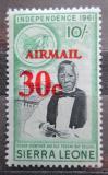 Poštovní známka Sierra Leone 1964 Samuel Adjayi Crowther přetisk Mi# 297