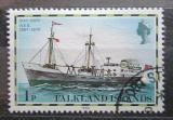 Poštovní známka Falklandské ostrovy 1982 Poštovní loď Mi# 255 II