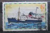 Poštovní známka Falklandské ostrovy 1978 Poštovní loď Darwin Mi# 256 I