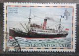 Poštovní známka Falklandské ostrovy 1978 Poštovní loď Lafonia Mi# 259 I